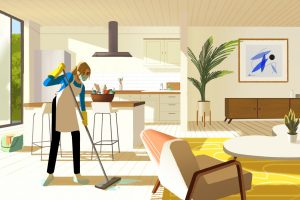Airbnb cleaning service,